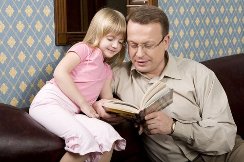 Father-And-Daughter-Are-Reading-web-no-w