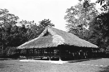 Đình Tân Trào - nơi diễn ra Đại hội đại biểu Quốc dân năm 1945.