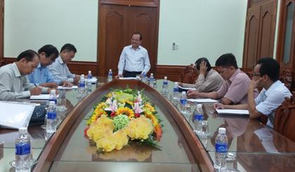 Cuộc họp Hội đồng Tổ chức Giải Báo chí Tiền Giang - Nguyễn Văn Nguyễn lần thứ IX.