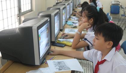 Ứng dụng CNTT làm thay đổi tích cực công tác dạy và học.