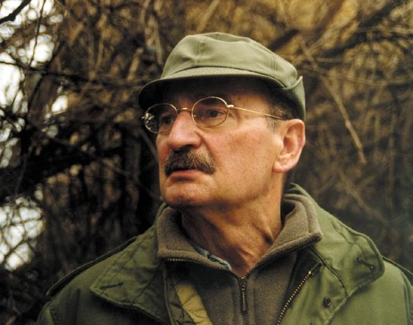 Nhà văn Slawomir Mrozek.